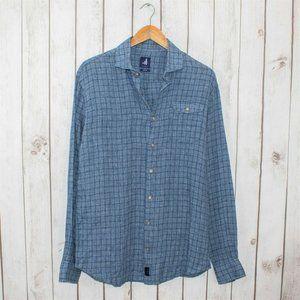 Johnnie-O Men's 100% Linen Button Front Shirt
